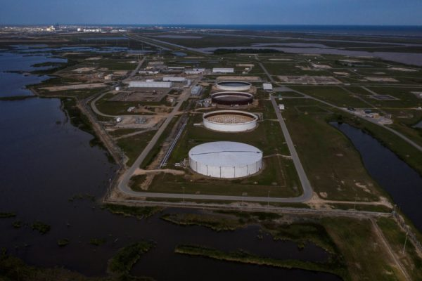 Over two-thirds of offshore oil output remains shut in U.S. Gulf -regulator